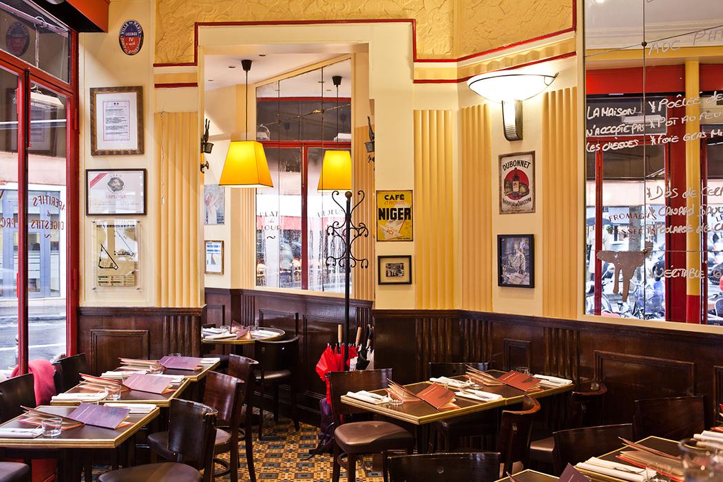 Le comptoir du relais excellent andy wahloo dinner in - Le comptoir du relais restaurant menu ...