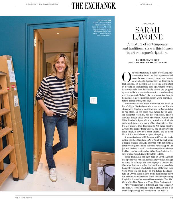 young ah kim photographer wsj sarah lavoine. Black Bedroom Furniture Sets. Home Design Ideas